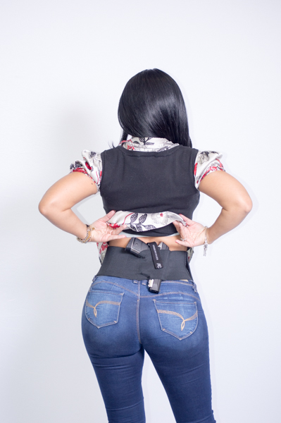 AC UNDERCOVER Belly Band Concealment Holster with Straps